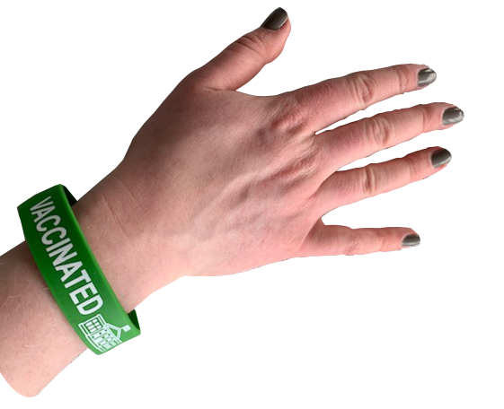 Vaccinated Writband